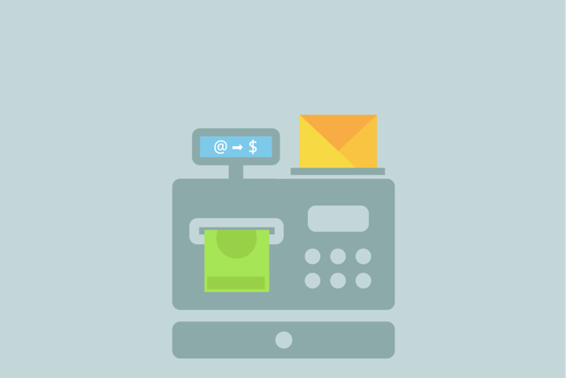 Email marketing with receipts