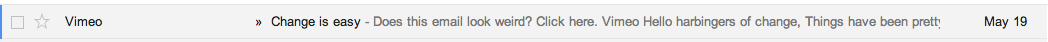 Vimeo subject line