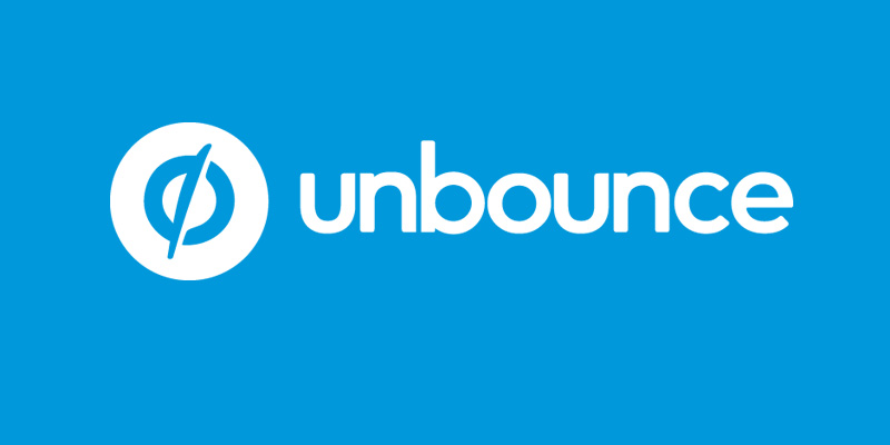 email landing pages unbounce logo