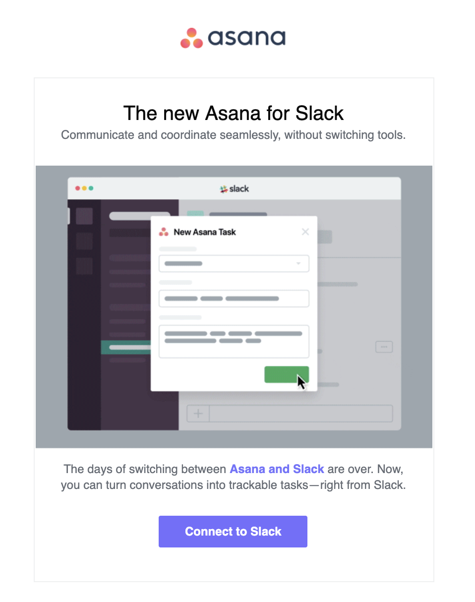 Asana product update reduce customer churn