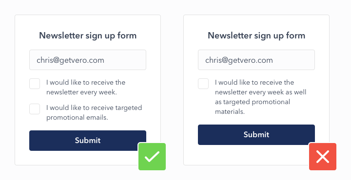 double opt-in example