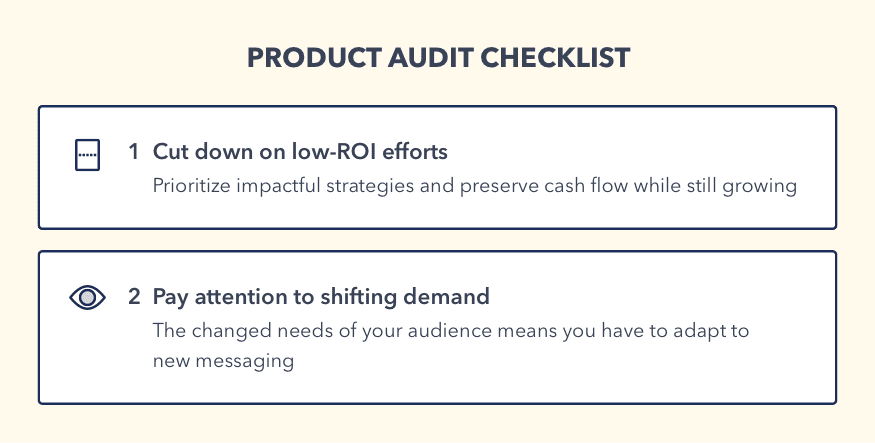 product audit checklist