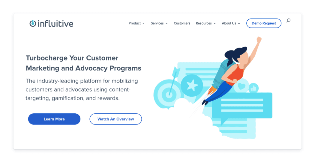 Influitive marketing stack example